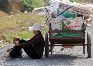 Homelessness in Bangkok's outskirts
