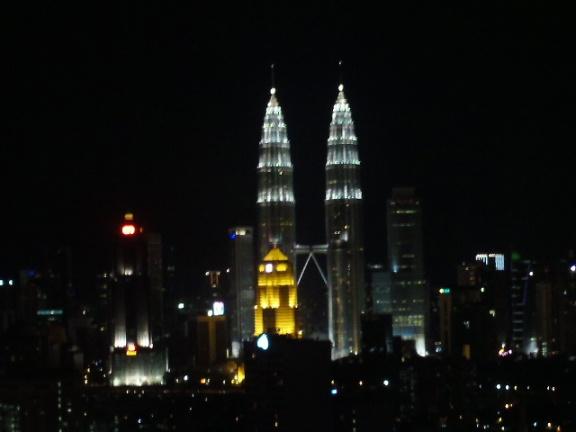 Kuala Lumpur's Patronas Towers.