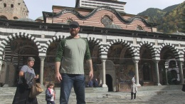 Monk on Fire: The Rila Monastery